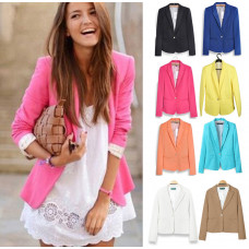 Suit Jacket with Foldable Long Sleeves