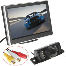 "5"" TFT LCD Monitor and Rearview Camera"