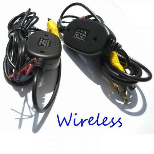 24 GHz Wireless RCA Video Transmitter Receiver Kit