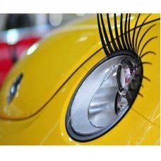 Eye Lashes Car Headlight Sticker